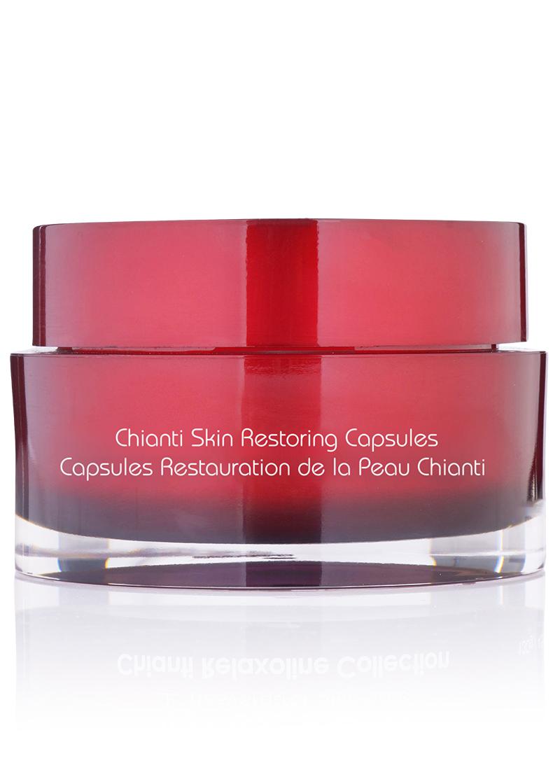 Chianti Skin Restoring Capsules backside