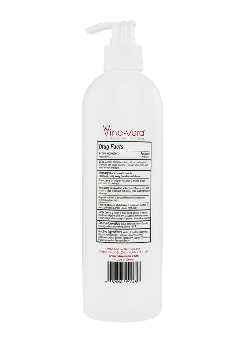 Hand Sanitizer back