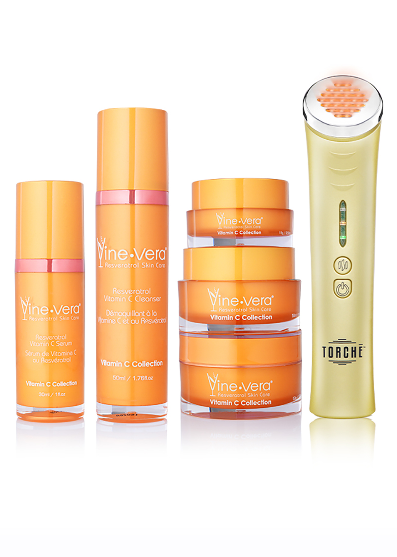Vitamin C Collection V2 with amber torche
