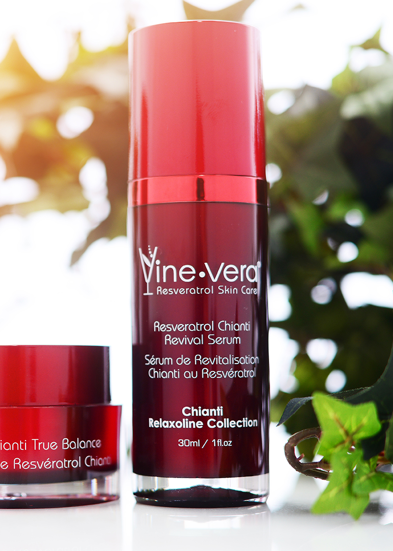 Chianti Revival Serum with outside background